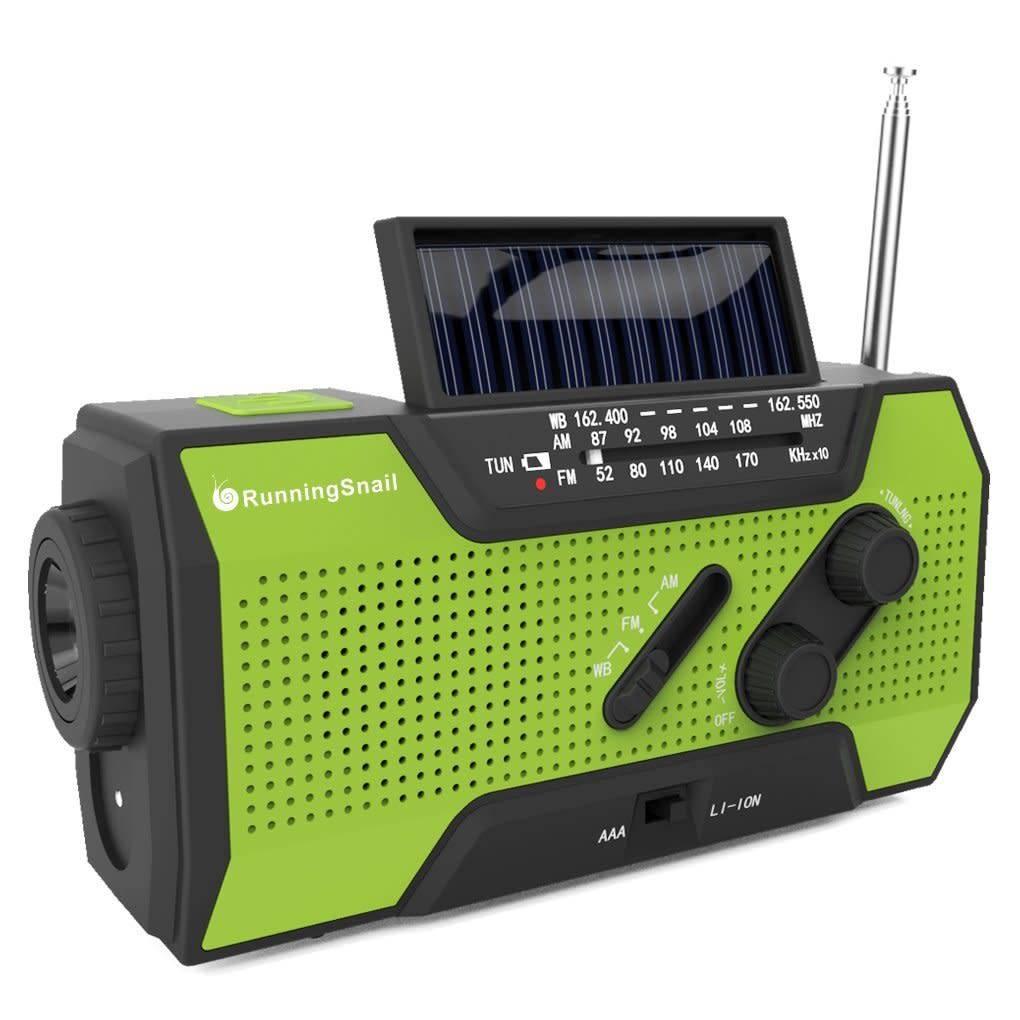 TrailWalker Gear Emergency Crank/Solar Radio/Light