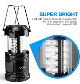TrailWalker Gear LED Lantern, 30-LED Super bright