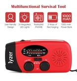 TrailWalker Gear Lyker Solar/Hand Crank Emergency Radio