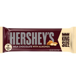TrailWalker Gear Hersey's Milk Chocolate w/Almonds, King Size
