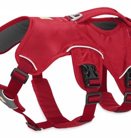 Ruffwear Web Master Dog Harness, Red Currant Small