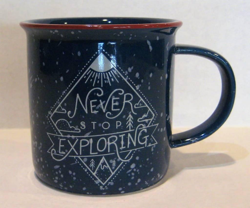 Summit Distribution Never Stop Exploring Mug