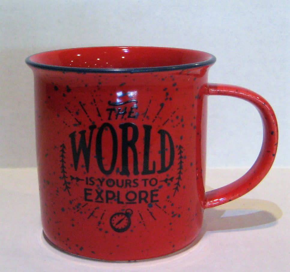 Summit Distribution The World is Yours to Explore Mug