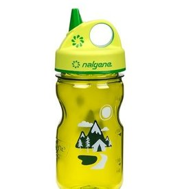 NALGENE Nalgene 12oz Grip-N-Gulp Trail Adventure Green