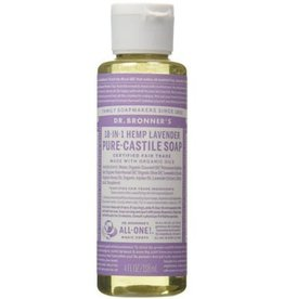 Dr. Bronner's Dr. Bronner's Lavender Pure-Castile Soap, 4oz