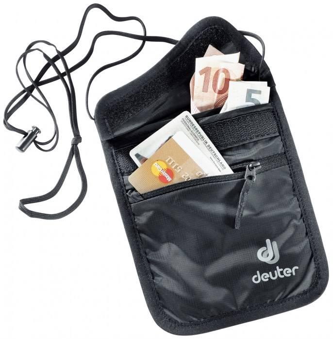 Deuter Deuter Security Wallet II, Black