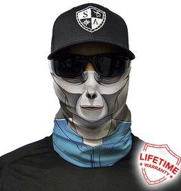 SA Company Face Shield Blue Alien