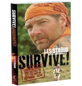 TrailWalker Gear Survive! by Les Stroud, Essential Skills &Tactics