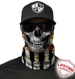 SA Company Face Shield Tribal Skull