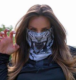 SA Company Face Shield White Tiger