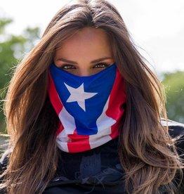 SA Company Face Shield Puerto Rico Flag