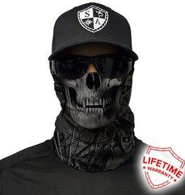 SA Company Face Shield SA Forest Camo Skull|