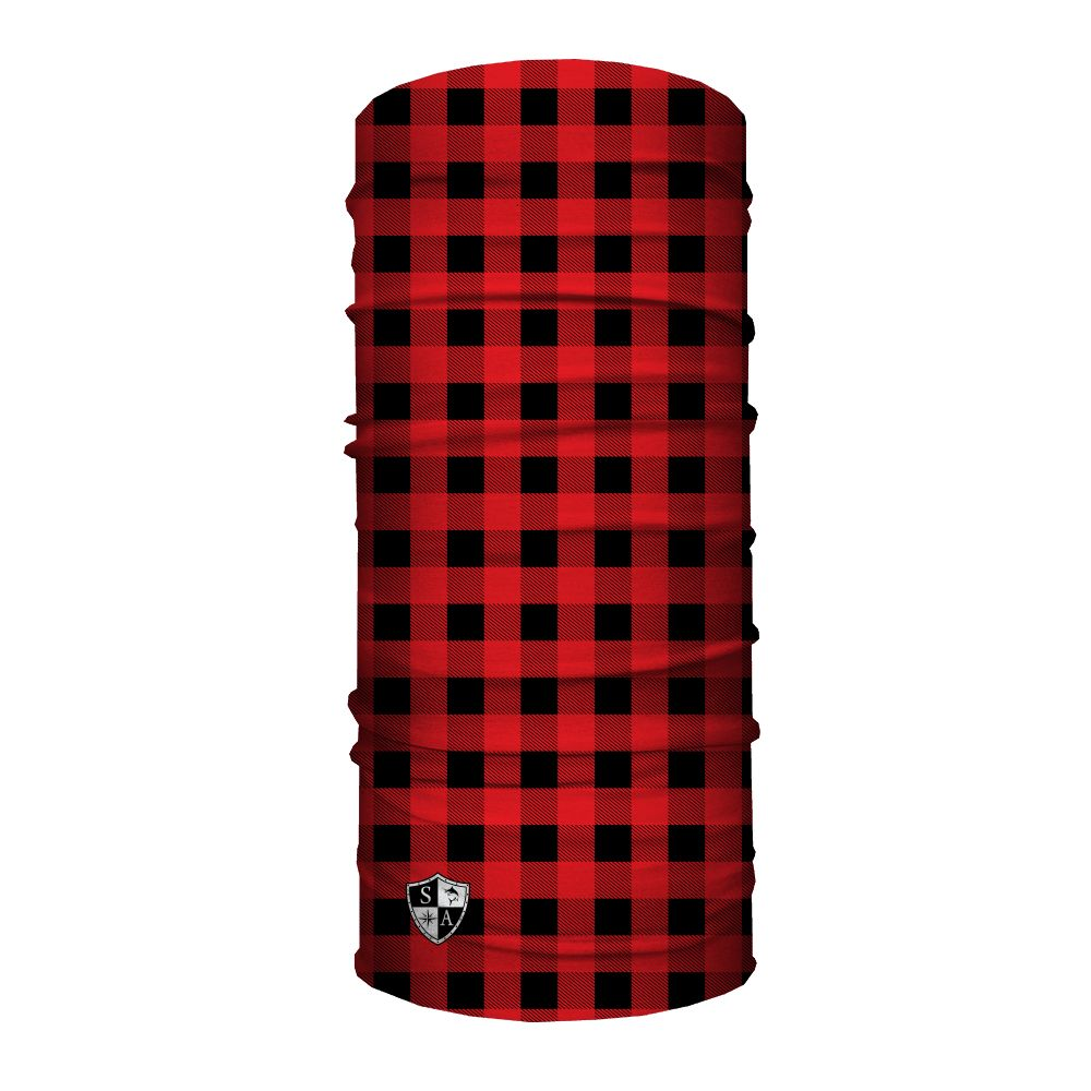 SA Company Face Shield Lumberjack | Red Plaid