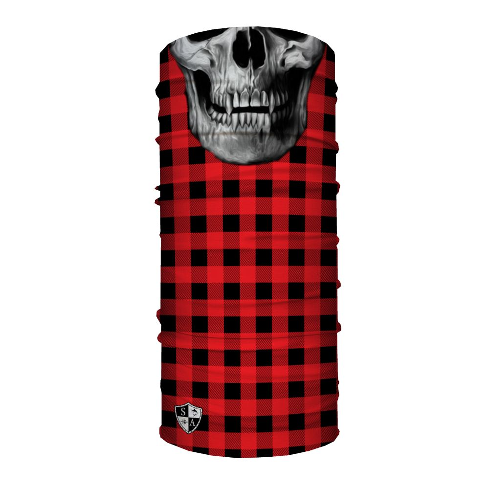 SA Company Face Shield Lumberjack | Red (Skull)