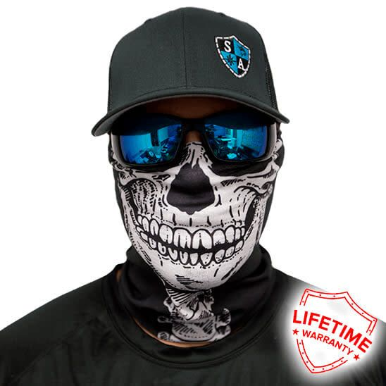 SA Company Face Shield Skeleton