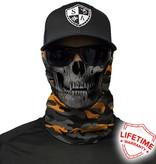 SA Company Military Blackout Camo Skull |