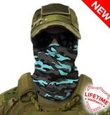 SA Company Face Shield Military Blackout Camo |