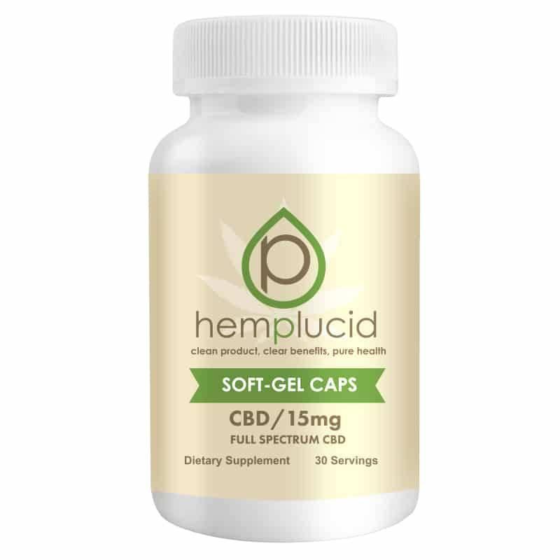 Hemplucid Hemplucid Soft Gel Caps CBD