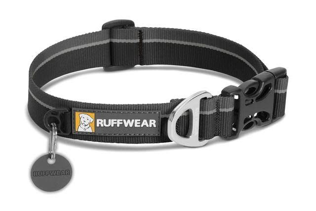 Ruffwear Ruffwear Hoopie Collar, Obsidian Black, Small
