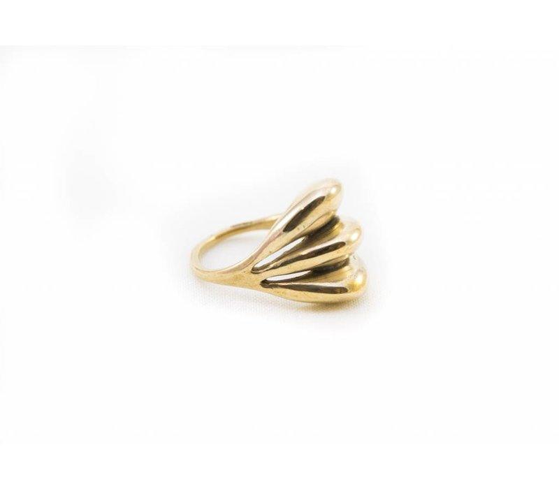 Kara Ring - Brass