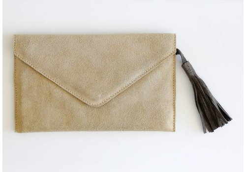 Gate Five Suede Clutch