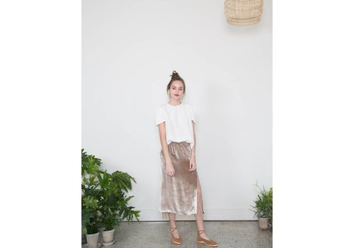 Adam Lippes Side Slit Skirt