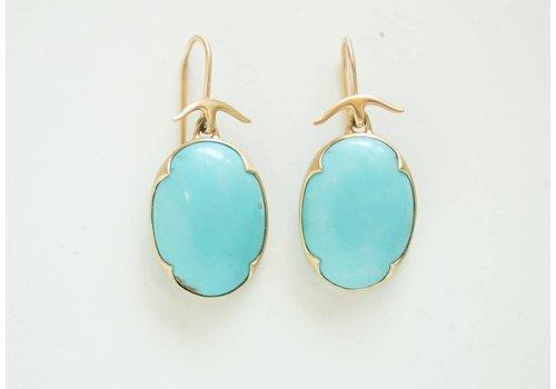 Gabriella Kiss Turquoise Earring