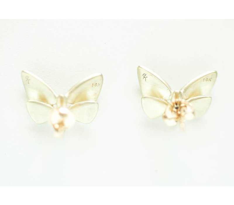 Small Butterfly Studs