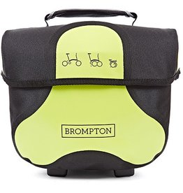 Brompton Brompton Mini O Bag Lime Green Ortlieb c/w Removable Strap