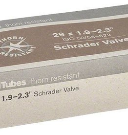 """Q-Tubes Q-Tubes Thorn Resistant 29"""" x 1.9-2.3"""" Schrader Valve Tube"""