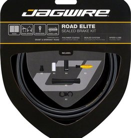 Jagwire Jagwire Road Elite Sealed Brake Cable Kit, Black