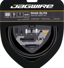 Jagwire Jagwire Road Elite Sealed Shift Cable Kit, Frozen Black