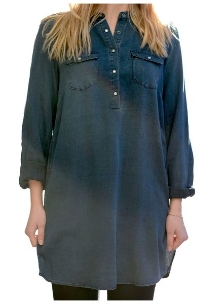 SOYA DENIM TUNIC DRESS