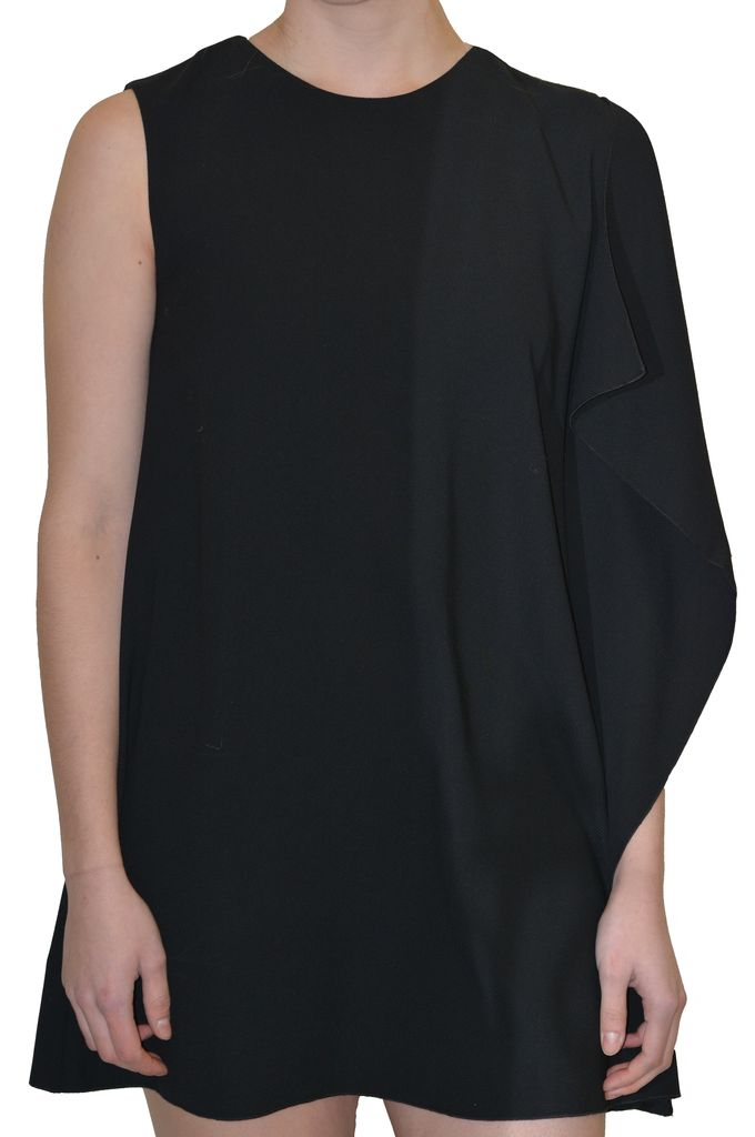 FRENCH CONNECTION ARROW CREPE DRESS
