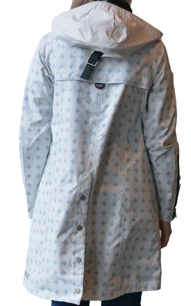 BLAEST PRINT RAINCOAT