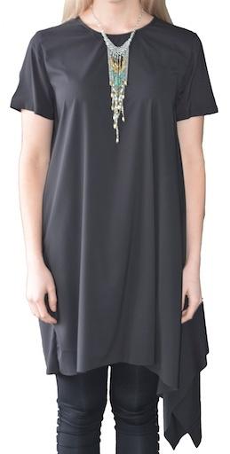 UCHUU ASSYMETRICL TUNIC DRESS