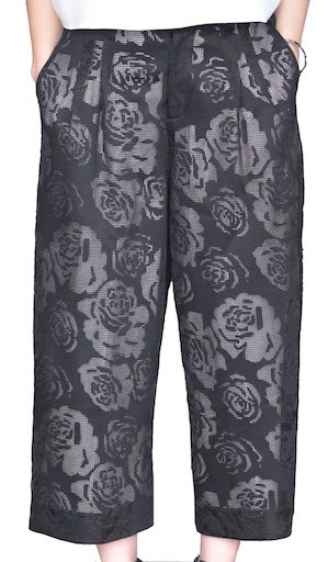 NISSE BOUQUET LINED LACE TROUSER