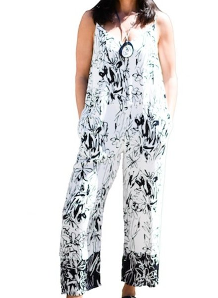 FRENCH CONNECTION FC CREPE JUMPSUIT