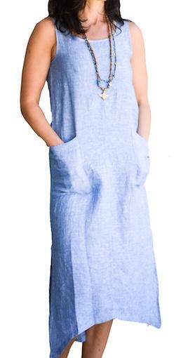 CHALET MARLYN LINEN DRESS