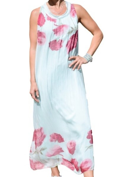 M ITALY FLOATY LONG DRESS