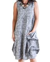 CHALET GRIZELDA LINEN DRESS