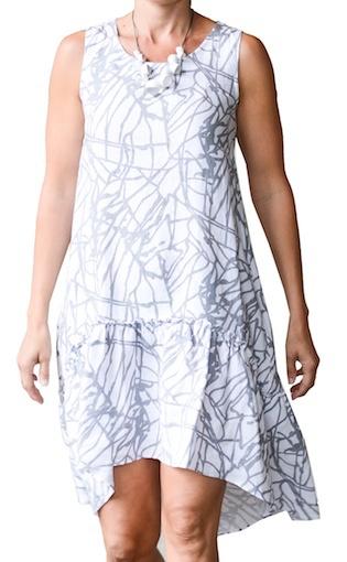 CHALET LARIZA LINEN DRESS