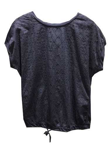 M ITALY LACE TRIM TOP