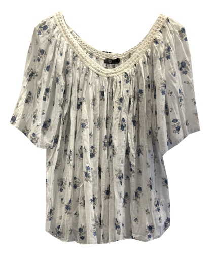 M ITALY FLORAL TOP
