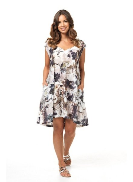 VIGORELLA VIGORELLA FLORAL DRESS
