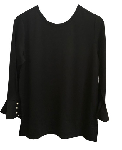 UCHUU FRENCH SLEEVE TOP