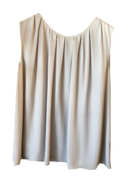 NOEL ASMAR COCO PLEATED TOP