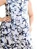 BANANA BLUE PRINT DRESS