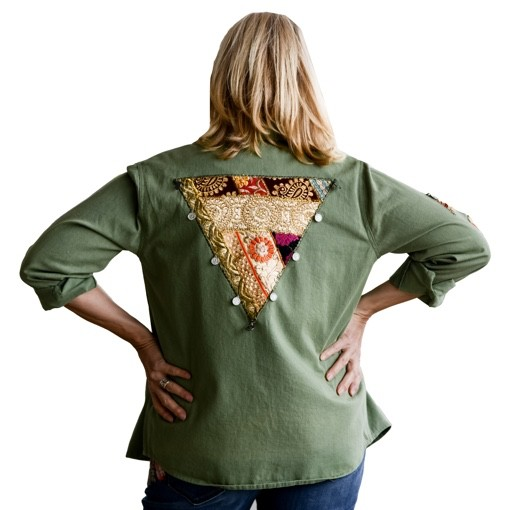 SUMMER OF LOVE EMBROIDERED JACKET