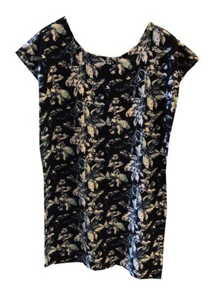 S&S LINEN RAYON PRINT DRESS